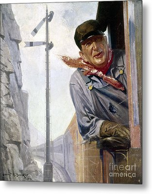 Beneker: The Engineer, 1913 Metal Print by Granger