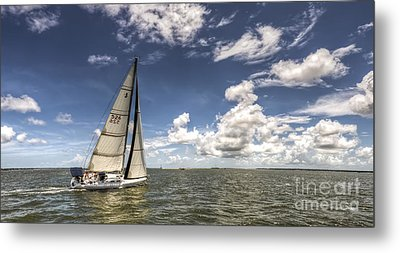 Beneteau First 40.7 Metal Print by Dustin K Ryan