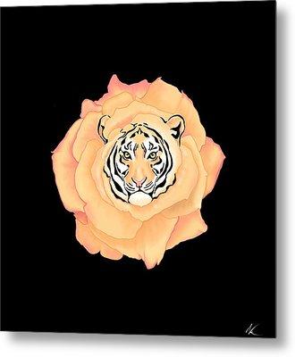 Bengal Blossom Metal Print