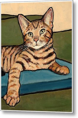 Bengal Cat Metal Print by Joyce Geleynse