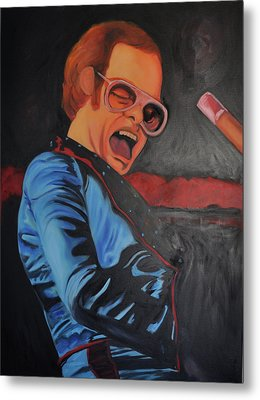 Benny And The Jet Metal Print by Mitchell Todd