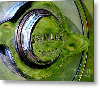 Bentley Metal Print