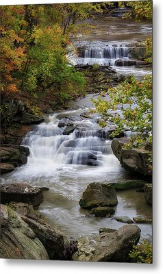 Metal Print featuring the photograph Berea Falls by Dale Kincaid