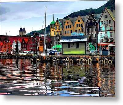 Bergen Colors Metal Print