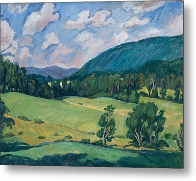 Berkshires Summer Metal Print by Thor Wickstrom