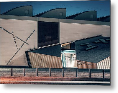 Berlin - Academy Of The Jewish Museum Metal Print by Alexander Voss