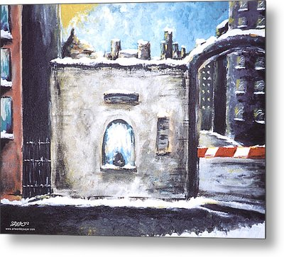 Berlin Gate No.2 Metal Print by James Sayer