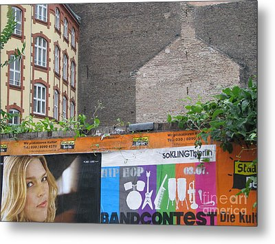 Metal Print featuring the photograph Berlin New And Old by Erik Falkensteen