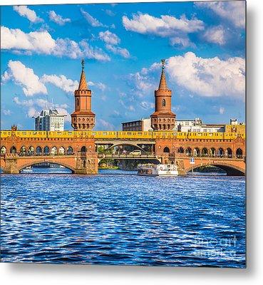 Berlin Oberbaum Bridge Metal Print