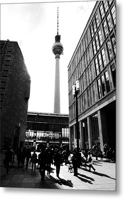 Berlin Street Photography Metal Print by Falko Follert