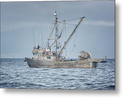 Metal Print featuring the photograph Bernice C by Randy Hall