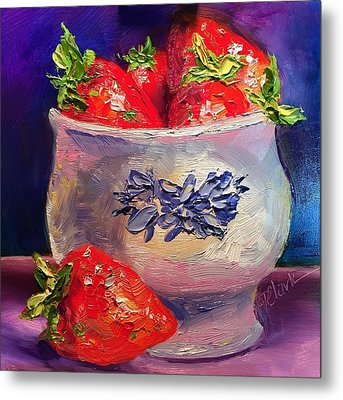 Berry Time Metal Print by Donna Pierce-Clark