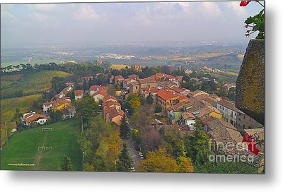 Bertinoro View -romagna Metal Print