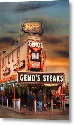 Best Steaks In Town Metal Print