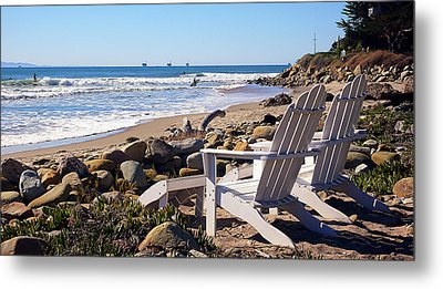 Best View Of The Point Metal Print