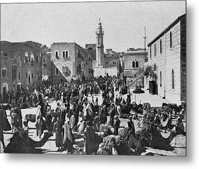 Bethlehem 1925 Metal Print by Munir Alawi