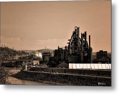 Bethlehem Steel Metal Print by Bill Cannon