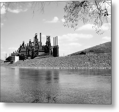 Metal Print featuring the photograph Bethlehem Steel by Michael Dorn