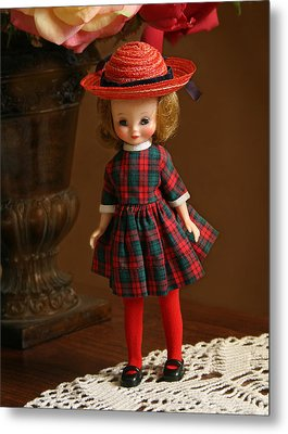 Betsy Doll Metal Print by Marna Edwards Flavell
