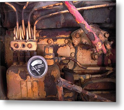 Metal Print featuring the photograph Better Check That Oil Pressure by Don Struke