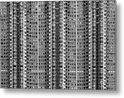 Better Know Where Your Flat Is Metal Print by Stefan Schilbe
