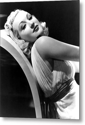 Betty Grable In The 1930s Metal Print by Everett