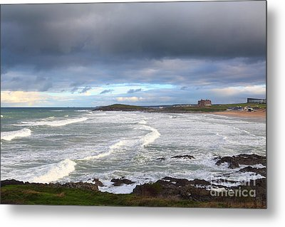 Metal Print featuring the photograph Between Cornish Storms 1 by Nicholas Burningham