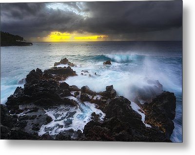 Metal Print featuring the photograph Between Two Storms by Ryan Manuel