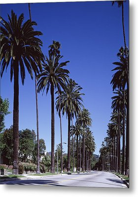 Beverly Hills And The Bel-air Section Metal Print by Everett