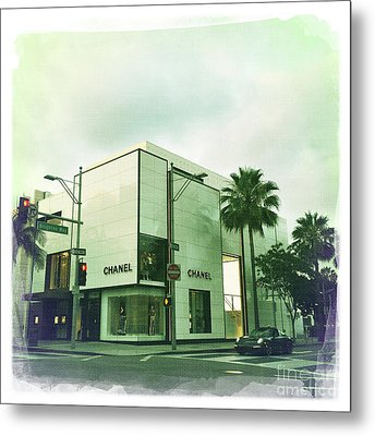 Beverly Hills Rodeo Drive 13 Metal Print