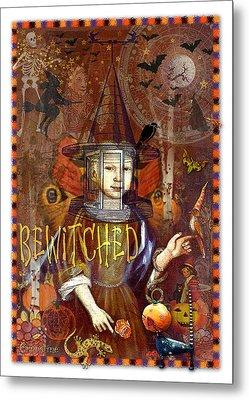 Bewitched Metal Print by Ernestine Grindal