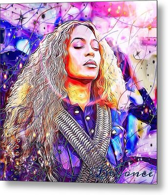 Beyonce Metal Print