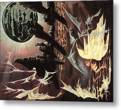 Beyond Metal Print by Charles Cater