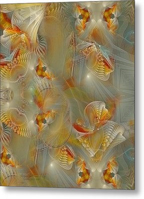 Beyond The Dance Of Life Metal Print by Gayle Odsather