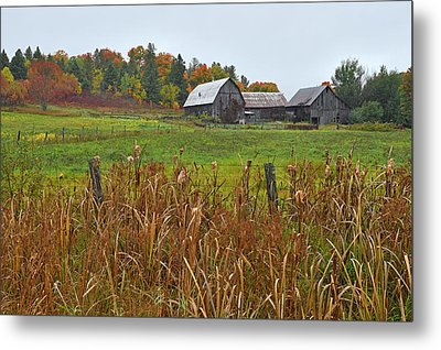 Beyond The Hill Metal Print