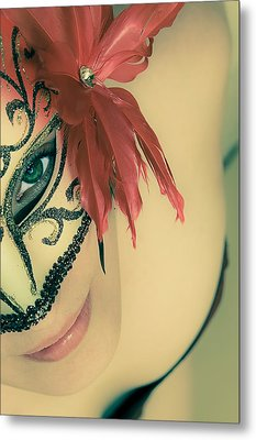Beyond The Mask #02 Metal Print by Loriental Photography