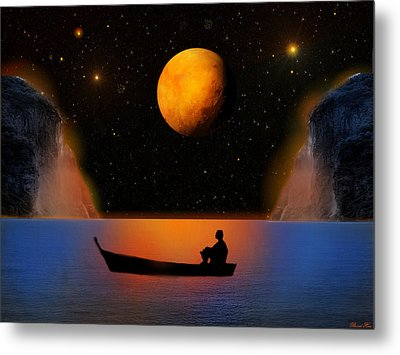 Metal Print featuring the photograph Beyond The Stars by Bernd Hau