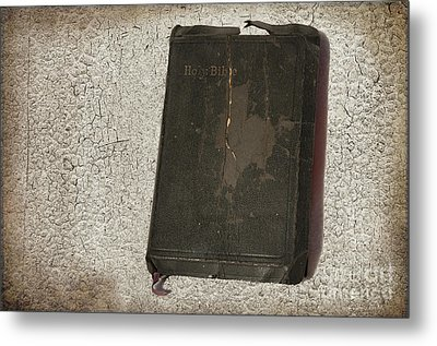 Bible Metal Print