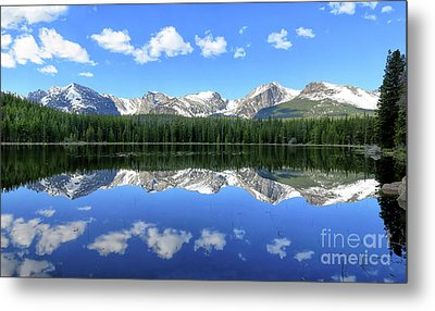 Bierstadt Lake In Rocky Mountain National Park Metal Print by Ronda Kimbrow