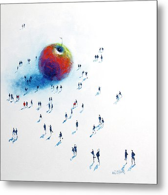 Big Apple 2 Metal Print