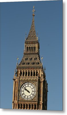 Metal Print featuring the photograph Big Ben by Andrei Fried