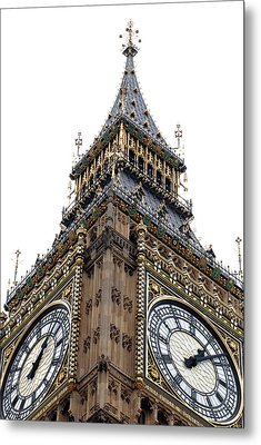 Big Ben Metal Print by Peter Funnell