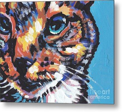 Big Blue Eyes Metal Print by Lea S