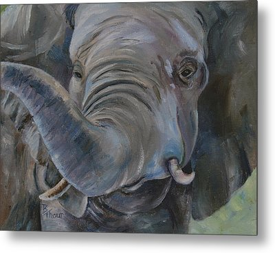 Big Boy Metal Print by Brenda Thour