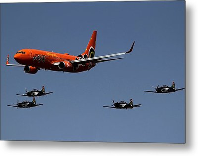 Big Brother Fly Pass Metal Print by Sean Presher-Hughes