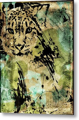 Big Cat Metal Print by Mindy Sommers