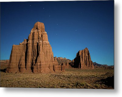 Big Dipper Over Capitol Reef National Park Metal Print by James Udall
