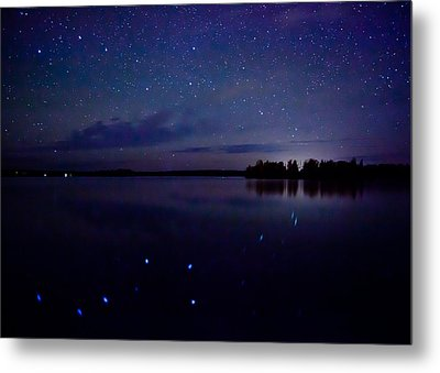 Big Dipper Reflection Metal Print