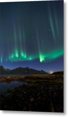 Big Dipper Metal Print by Tor-Ivar Naess