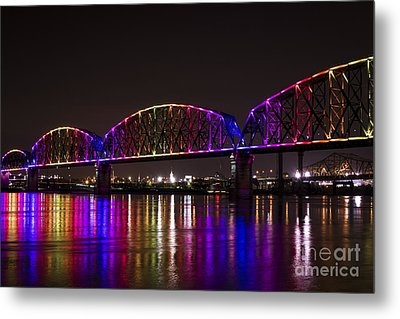 Big Four Bridge 2214 Metal Print
